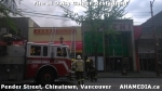 6 AHA MEDIA at Fire at Daisy Garden restaurant in Chinatown, Vancouver April 21,2015