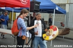 74 AHA MEDIA at Alley Health Fair on Apr 21, 2015 in Vancouver