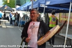 78 AHA MEDIA at Alley Health Fair on Apr 21, 2015 in Vancouver