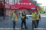 8 AHA MEDIA at Alley Health Fair on Apr 21, 2015 in Vancouver