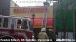8 AHA MEDIA at Fire at Daisy Garden restaurant in Chinatown, Vancouver April 21,2015