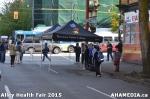 9 AHA MEDIA at Alley Health Fair on Apr 21, 2015 inVancouver