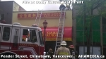 9 AHA MEDIA at Fire at Daisy Garden restaurant in Chinatown, Vancouver April 21, 2015