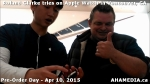 9 Roland Clarke tries on Apple Watch in Vancouver Canada on April 10, 2015