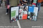 93 AHA MEDIA at Alley Health Fair on Apr 21, 2015 inVancouver