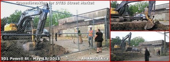 0 Groundbreaking for DTES Street Market