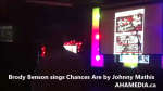 1 Brody Benson sings Chances Are by Johnny Mathis at Karaoke (1)
