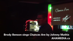 1 Brody Benson sings Chances Are by Johnny Mathis at Karaoke (2)
