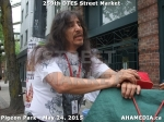 40 AHA MEDIA at 259th DTES Street Market in Vancouver on May 24, 2015