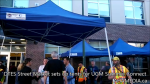 1 DTES Street Market sets up tents for UGM Summer Connect 2015 in Vancouver(13)