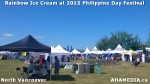 11 AHA MEDIA sees Rainbow Ice Cream at MV-PACES 2015 Philippines Day Festival