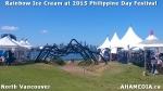 20 AHA MEDIA sees Rainbow Ice Cream at MV-PACES 2015 Philippines DayFestival