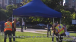 DTES Street Market sets up tents at Gathering Festival 2015 in Yaletown, Vancouver (8)