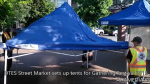 DTES Street Market sets up tents at Gathering Festival 2015 in Yaletown, Vancouver (9)