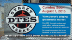 1 AHA MEDIA sees Test set up of new DTES Street Market at 501 Powell St for Aug 1, 2015 in Vancouver (2)