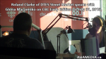 11 Roland Clarke of DTES Street Market speaks with Gloria Macarenko of CBC Early Edition on Jul 31 2015(1)