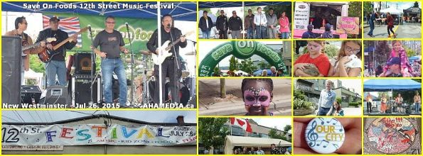 Save on Foods 12th Street Music Festival 2015 in New West