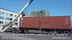 Truck dropping off container at 501 Powell for DTES Street Market (11)