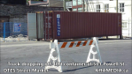 Truck dropping off container at 501 Powell for DTES Street Market (22)