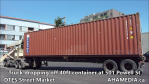 Truck dropping off container at 501 Powell for DTES Street Market (8)