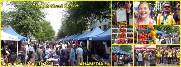 0 271st DTES Street Market in Vancouver on Aug 16 2015