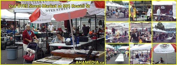 0 2nd DTES Street Market at 501 Powell St in Vancouver
