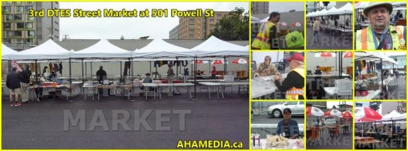 0 3rd DTES Street Market at 501 Powell in Vancouver on Aug 15 2015