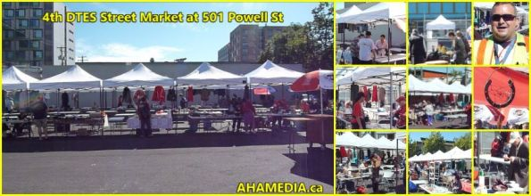 0 4th DTES Street Market at 501 Powell