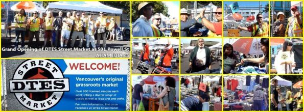 00 Grand Opening of DTES Street Market at 501 Powell St on Aug 1, 2015