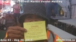 1 AHA MEDIA sees DTES Street Market Vendor Meeting on Aug 20 2015