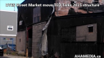 1 DTES Street Market moves TED Talk 2015 structure at 501 Powell St (2)