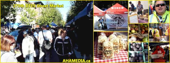 0 275th DTES Street Market in Vancouver on Aug 13 2015