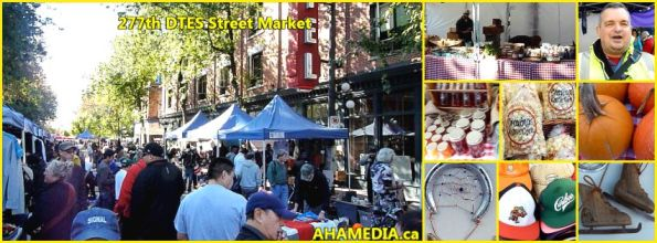 0 277 DTES Street Market in Vanvouver on Sept 27 2015
