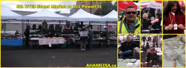 0 6th DTES Street Market at 501 Powell on Sept 5 2015