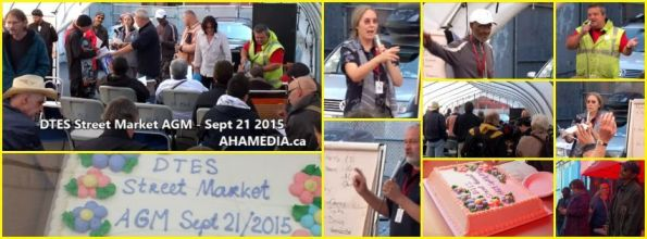 0 DTES Street Market AGM on Sept 21 2015