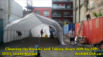 1 Cleaning Up Area 62 and Taking down 40ft Tent for DTES Street Market in Vancouver on Sept 15 2015 (11)