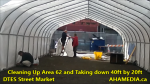 1 Cleaning Up Area 62 and Taking down 40ft Tent for DTES Street Market in Vancouver on Sept 15 2015 (14)