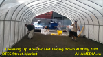 1 Cleaning Up Area 62 and Taking down 40ft Tent for DTES Street Market in Vancouver on Sept 15 2015 (16)