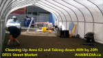 1 Cleaning Up Area 62 and Taking down 40ft Tent for DTES Street Market in Vancouver on Sept 15 2015 (21)