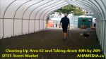 1 Cleaning Up Area 62 and Taking down 40ft Tent for DTES Street Market in Vancouver on Sept 15 2015 (3)
