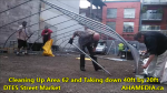 1 Cleaning Up Area 62 and Taking down 40ft Tent for DTES Street Market in Vancouver on Sept 15 2015 (43)