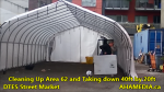 1 Cleaning Up Area 62 and Taking down 40ft Tent for DTES Street Market in Vancouver on Sept 15 2015 (7)