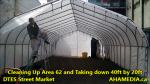 1 Cleaning Up Area 62 and Taking down 40ft Tent for DTES Street Market in Vancouver on Sept 15 2015 (8)
