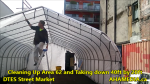 1 Cleaning Up Area 62 and Taking down 40ft Tent for DTES Street Market in Vancouver on Sept 15 2015 (9)