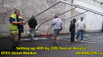 1 Setting up 40ft Tent at Area 62 for DTES Street Market on Sept 18 2015 (11)