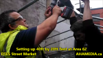 1 Setting up 40ft Tent at Area 62 for DTES Street Market on Sept 18 2015 (16)
