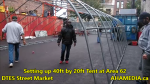 1 Setting up 40ft Tent at Area 62 for DTES Street Market on Sept 18 2015 (21)