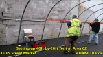 1 Setting up 40ft Tent at Area 62 for DTES Street Market on Sept 18 2015 (29)