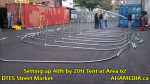 1 Setting up 40ft Tent at Area 62 for DTES Street Market on Sept 18 2015 (3)