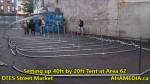 1 Setting up 40ft Tent at Area 62 for DTES Street Market on Sept 18 2015 (4)